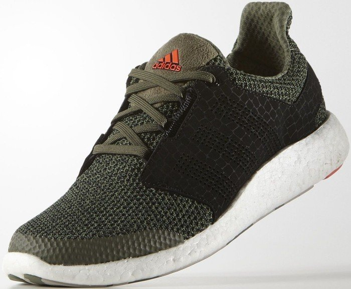 264a540efe455 adidas Pure Boost 2.0 base green core black solar red (men) (AQ2074)  starting from £ 0.00 (2019)