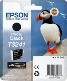 Epson Tinte T3241 schwarz photo (C13T324140)