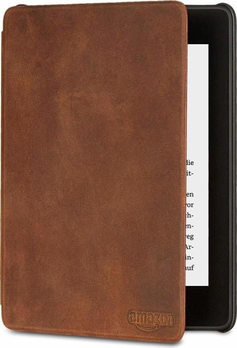 Amazon Kindle Paperwhite 2018 Premium-leather sleeve Braun (53-007763)