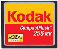 Kodak CompactFlash Card (CF)  256MB (8132219)