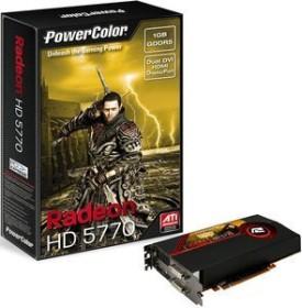 PowerColor Radeon HD 5770 ATI-Design, 1GB GDDR5, 2x DVI, HDMI, DP (AX5770 1GBD5-MDH/A84F-TI4)