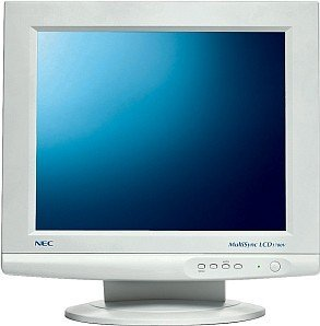 "NEC MultiSync LCD1700V, 17"", 1280x1024, analog, white"