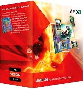 AMD A6-3670K, 4x 2.70GHz, boxed (AD3670WNGXBOX)