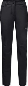 Jack Wolfskin Zenon Softshell pant long black (ladies) (1505111-6000)
