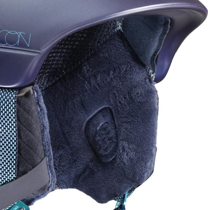 Salomon Damen Icon C.Air Helmet, Wisteria Navy Blue, S