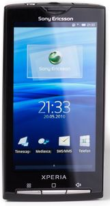 Sony Ericsson Xperia X10 sensuous black -- http://bepixelung.org/12561