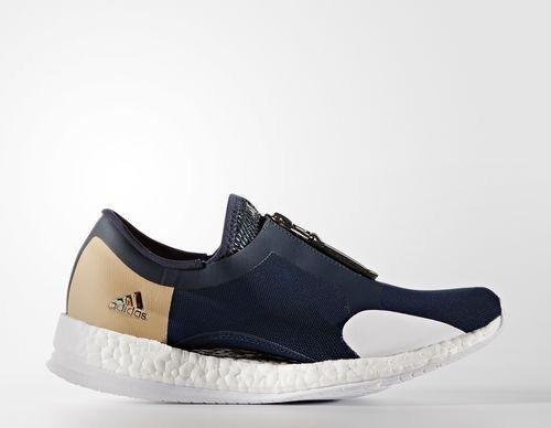 info for 239e2 03ba9 adidas Pure Boost X Trainer Zip collegiate navycore blackblue (Damen)
