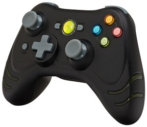 BigBen Wildfire wireless controller black (Xbox 360) (DA276558)