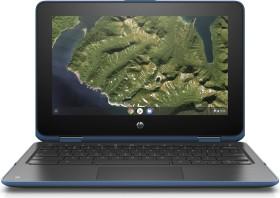 HP Chromebook x360 11 G2 schwarz/blau, Celeron N4100, 8GB RAM, 64GB Flash (6MS14EA#ABD)