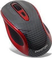 Prestigio Wireless Desktop Racer Laser Mouse, USB (PJ-MSL3W)