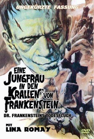 Eine Jungfrau in den Krallen von Frankenstein -- via Amazon Partnerprogramm