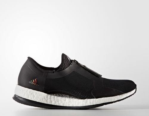 adidas Pure Boost X Trainer Zip core black/footwear white (Damen) (BB1579)  ab € 85,38