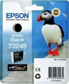 Epson Tinte T3248 schwarz matt (C13T324800)