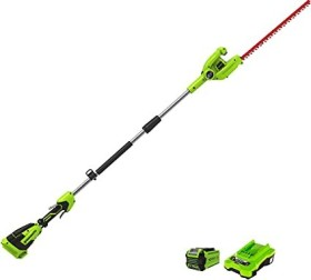 Greenworks Tools G40PHA cordless hedge trimmer incl. rechargeable battery 2.0Ah (2300407UA)
