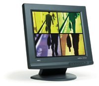 "NEC MultiSync LCD1700V, 17"", 1280x1024, analog, black"
