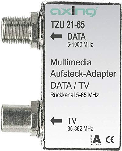 Axing TZU 21-65 Multimedia-Aufsteckadapter (TZU02165) -- via Amazon Partnerprogramm