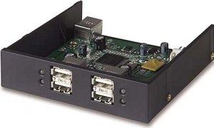 Belkin Hi-Speed USB 2.0 4-port Hub Tray, multifunctional frontpanel (F5U261EA)