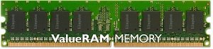 Kingston ValueRAM DIMM 1GB, DDR2-667, CL5, ECC (KVR667D2E5/1G)