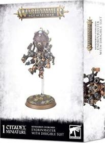 Games Workshop Warhammer Age of Sigmar - Kharadron Overlords - Endrinmaster mit Luftschiffrüstung (99120205040)