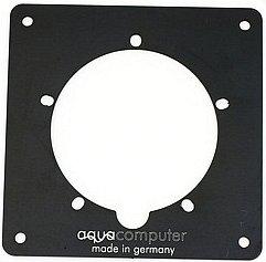 Aqua Computer Aquatube Aluminium-Einbaublende schwarz (34904)