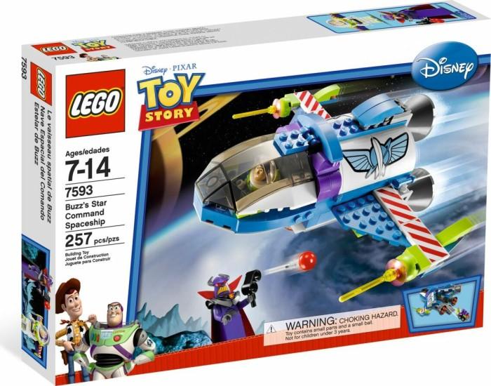 LEGO Toy Story - Buzz's Star Command-Raumschiff (7593) -- via Amazon Partnerprogramm