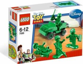 LEGO Toy Story - Grüne Plastiksoldaten (7595)