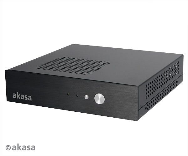 Akasa Cypher, 120W external, Thin mini-ITX (AK-ITX04-BK)