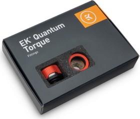 """EK Water Blocks Quantum Line EK-Quantum Torque HDC 16 Fitting 1/4"""" auf 16mm, Red Special Edition, 6er-Pack (3831109834916)"""