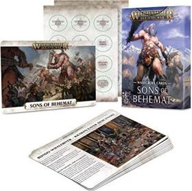Games Workshop Warhammer Age of Sigmar - Warscrolls: Sons of Behemat (04220299015)