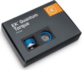 """EK Water Blocks Quantum Line EK-Quantum Torque HDC 16 Fitting 1/4"""" auf 16mm, Blue Special Edition, 6er-Pack (3831109834923)"""