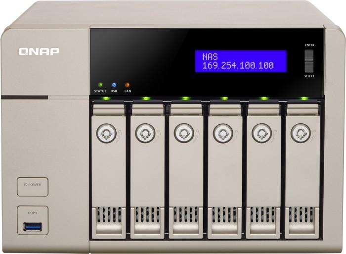 QNAP TVS-663, 8GB RAM, 2x Gb LAN