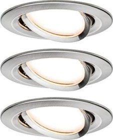 Paulmann LED Nova circular iron 3x 6.5W built-in light, 3er set (934.83)