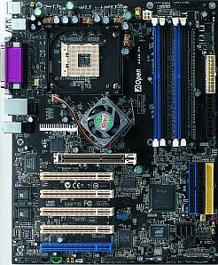 AOpen AX4C Max, i875P (dual PC-3200 DDR)