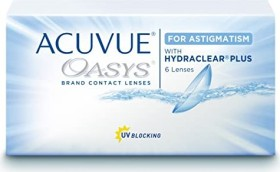 Johnson & Johnson Acuvue Oasys for Astigmatism, +0.00 Dioptrien, 6er-Pack