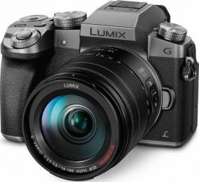 Panasonic Lumix DMC-G70 silber mit Objektiv Lumix G Vario 14-140mm 3.5-5.6 ASPH OIS (DMC-G70H/DMC-G7H)