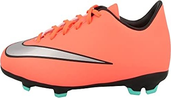 super popular a991f e9675 Nike Jr. Mercurial Victory V FG mango/hyper turquoise/silver metallic  (Junior