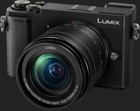 Panasonic Lumix DC GX9 black with lens Lumix G vario 12-60mm 3.5-5.6 ASPH Power OIS (DMC-GX9M)