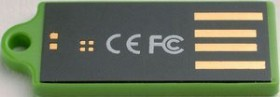 Verbatim Store 'n' Go Micro grün 4GB, USB-A 2.0 (47376)