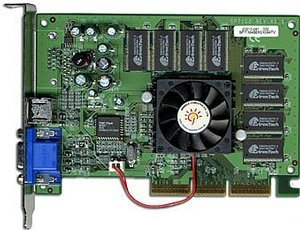 Sparkle SP7100M4SE, GeForce4 MX440SE, 64MB DDR, TV-out, AGP