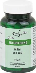 11A Nutritheke MSM 500mg Kapseln, 60 Stück