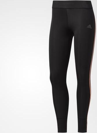7f9c870e141f adidas Response Tights running pants long black orange (ladies) (BQ3582)