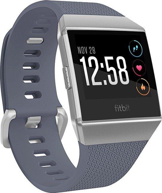 Fitbit Ionic GPS-Uhr blue grey/silver grey (FB503WTGY)