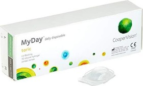 Cooper Vision Myday daily disposable toric, +0.00 Dioptrien, 30er-Pack