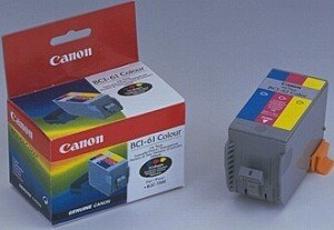 Canon BCI-61 ink coloured (0968A008)