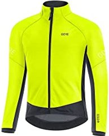 Gore Wear C3 Gore-Tex Infinium Thermo cycling jacket neon yellow/black (men) (100644-0899)