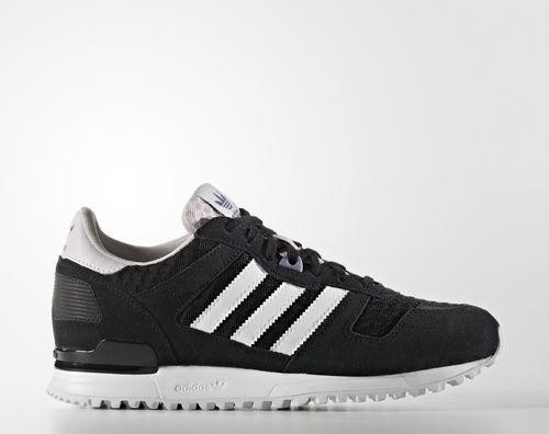 adidas ZX 700 core black/ftwr white/ice purple (Damen) (S79795) ab € 79,00