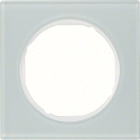 Berker R.3 Rahmen 1fach, polarweiß (10112209)