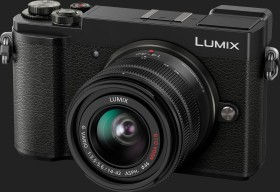 Panasonic Lumix DC GX9 black with lens Lumix G vario 14-42mm 3.5-5.6 II ASPH OIS (DMC-GX9N)