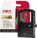 OKI 09002303 ink ribbon black