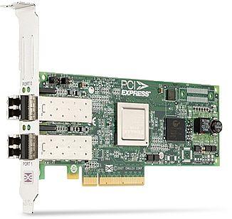 Dell Emulex LPe12002, 2x LC-Duplex/Fibre Channel, PCIe 2.0 x8 (189GX/406-10691/406-BBGR)